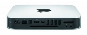 Apple Mac Mini back view