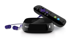 Roku 3 streaming device