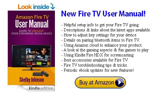Amazon Fire TV User Manual at Amazon