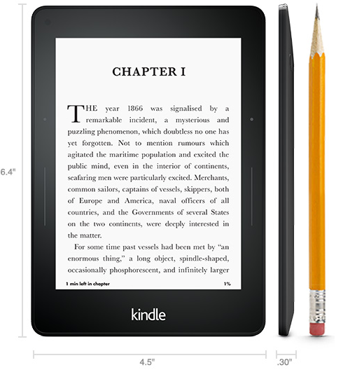 the Kindle Voyage eReader from Amazon