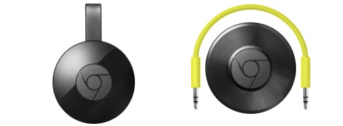 Google Chromecast 2015 and Chromecast Audio